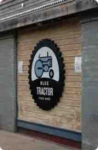 blue tractor traverse city