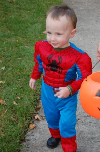 Jackson as Spider-Man