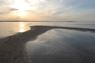 Elk Rapids Beach Sunset
