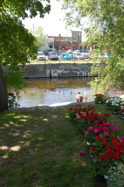 Boardman River from the Market
