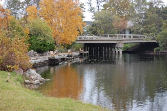 8th Street Bridge, Last Fall