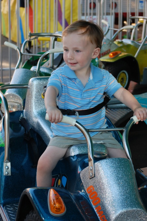 Jackson's First Ride