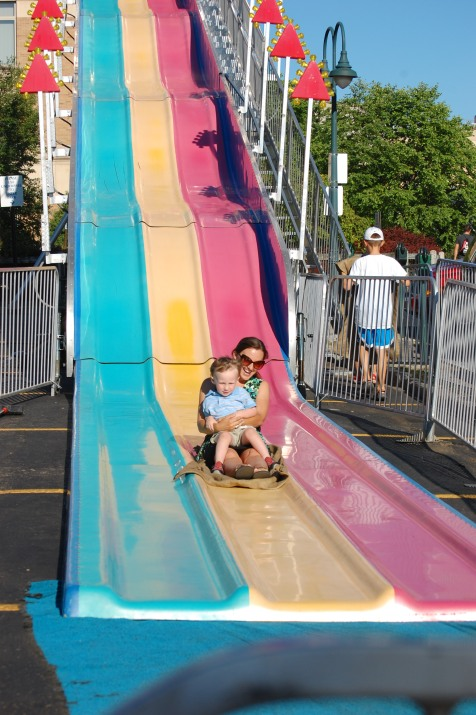 Tri-Colored Slide