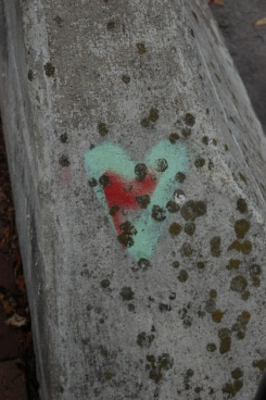 Graffiti Heart Bridge