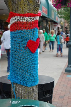 Knit Tree Wrap