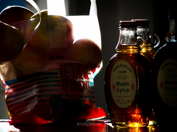 Road-Side Apples & Maple Syrup