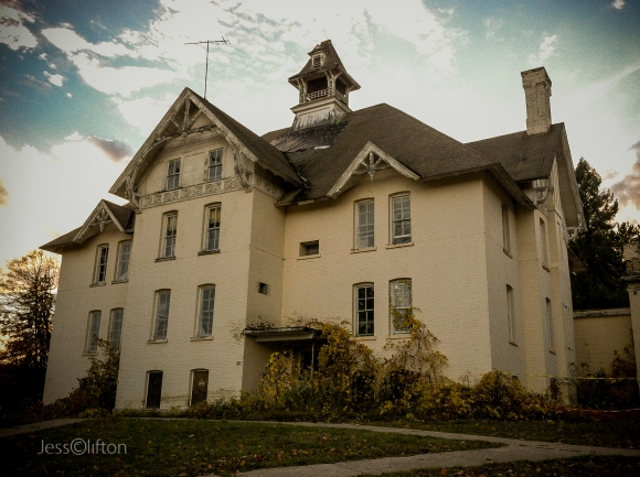 Old Northern Michigan Asylum Building