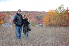 Jim & Jess in Fall Color