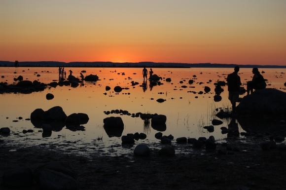 Lake Michigan, Old Mission Peninsula, Silhouette