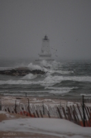 Wind at Ludington Lighthouse