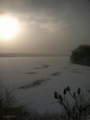 Boardman Lake Winter