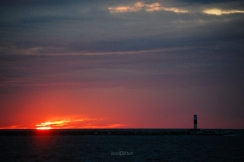 Ludington Sunset