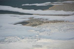 Glen Lake ice