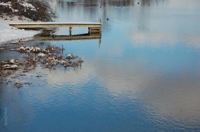 Lake Sky Reflections