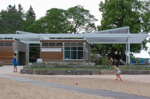 Clinch Park Terraced Lawn
