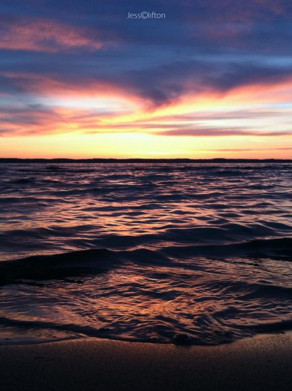 OMP Sunset Shore Portrait