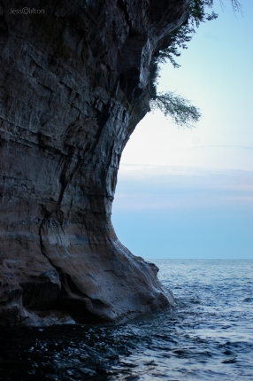 Pictured Rocks Chapel Cove