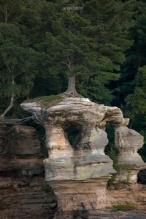 Pictured Rocks Chapel Rock