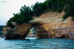 Pictured Rocks Lovers Leap