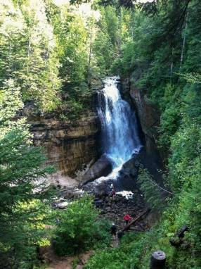 Pictured Rocks Miners Falls
