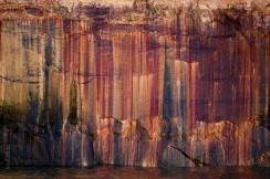 Pictured Rocks Mineral Graffiti