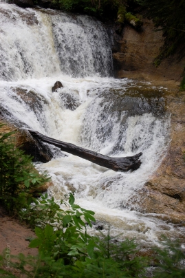 Pictured Rocks Sable Falls