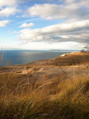Sleeping Bear Dunes Manitou Island Portrait