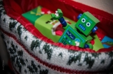 Christmas Stocking Robot