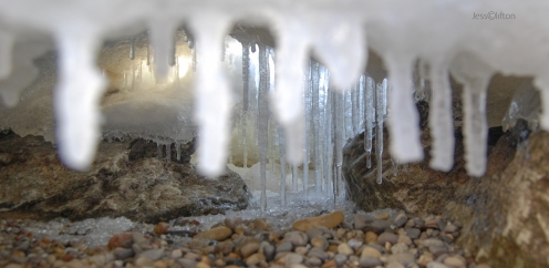 Icicle Cave Wide