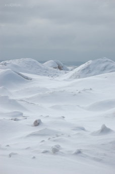 Beyond the Ice Dunes