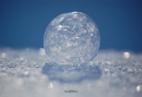 Frozen Bubble Snow Shadow