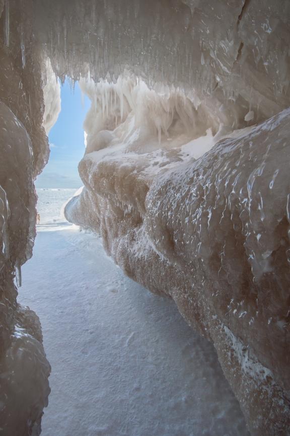 Ice Cave Exit