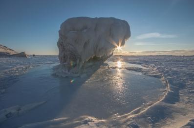 The Turnip Rock of Ice Bergs