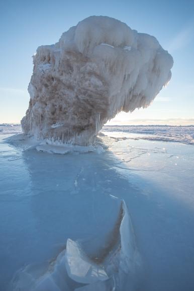 Top Heavy Ice Burg