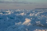 Lake Michigan Ice Shards